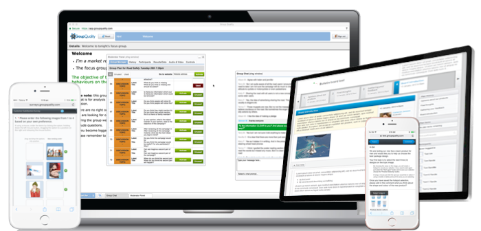 GroupQuality All-in-one online market research software overview