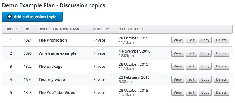GroupQuality agile online research discussion plan