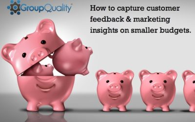 How to capture customer feedback & marketing insights on smaller budgets