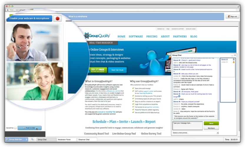 GroupQuality Online Interview Software