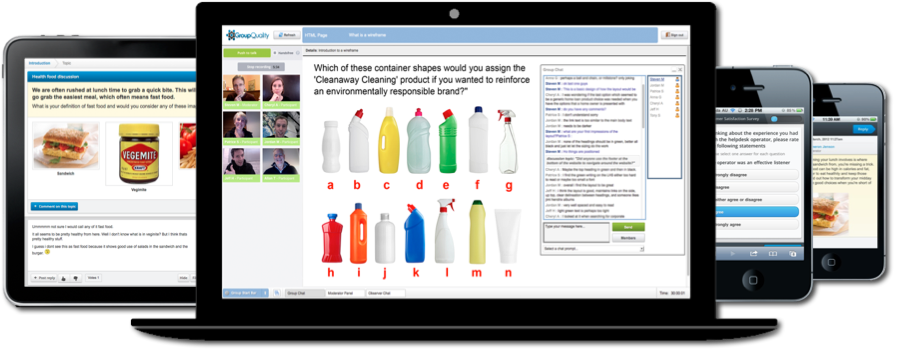 Agile market research software tools