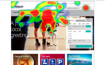Case study – Airport website usability focus group