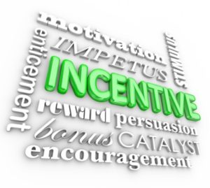 Participant recruitment incentives